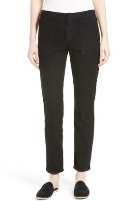 Women's Joie Painter Cotton & Linen Pants $238 thestylecure.com