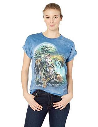The Mountain Wolf Lookout Adult Woman's T-Shirt