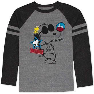 Peanuts Big Boys Snoopy Graphic T-Shirt