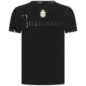 Billionaire BillionaireBoys Black Edgard Cotton Top