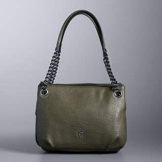 Vera Wang Simply Vera Brent Triple Entry Shoulder Bag