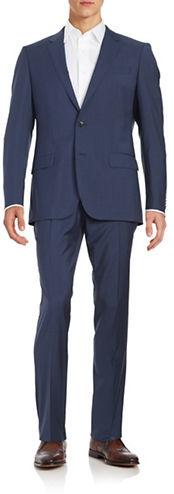 Hugo BossHugo Boss Two-Piece Slim Fit Wool Suit