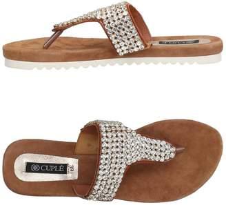 Cuplé Toe strap sandals