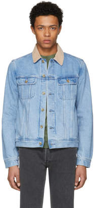 A.P.C. Indigo Denim Howl Jacket