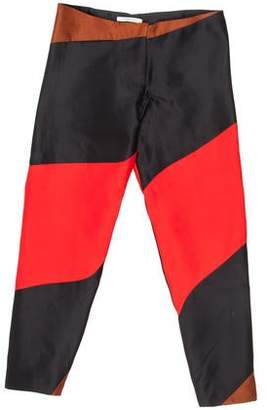 Thomas Laboratories Tait Silk Trousers w/ Tags