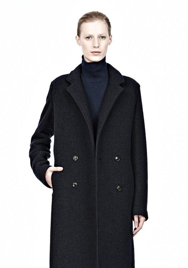 Alexander Wang Doubled Sided Wool Blend Car Coat