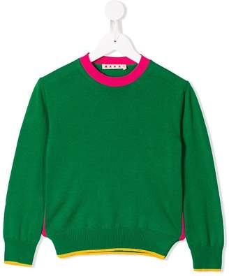 Marni green knit sweater