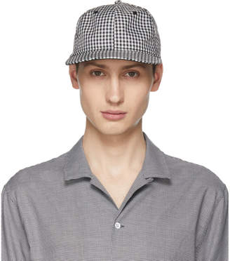Rag & Bone Black and White Dylan Cap