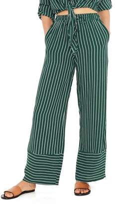 Faithfull The Brand Havana High Waist Stripe Pants