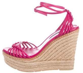 Ralph Lauren Espadrille Wedge Sandals