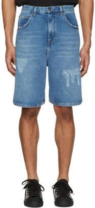 J.W.Anderson Blue Denim Shorts