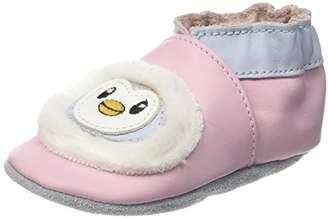 Robeez Baby Girls' Nanouk Booties Pink Size: