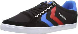 Hummel Slimmer Stadil Low Black/Blue/Red/Gum Schuhe Schuhe Herren Damen Sneaker Sport Größe (UK 11)