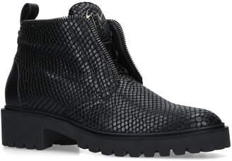 Giuseppe Zanotti Textured Leather Boots
