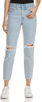 Levi's Wedgie Icon Jeans in Kiss Off $98 thestylecure.com