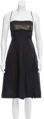 Narciso Rodriguez Embellished Midi Dress w/ Tags