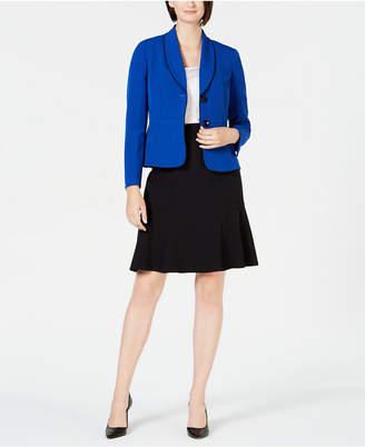 Le Suit Shawl-Lapel Skirt Suit