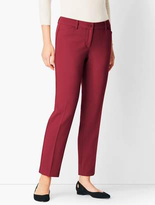 Talbots Compact Crepe Hampshire Ankle Pants