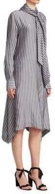 See by Chloe Striped Scarf Dress