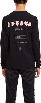 Undercover Take A Trip Long-Sleeve Zip Tee