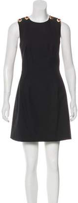 Dolce & Gabbana Snap-Accented Mini Dress