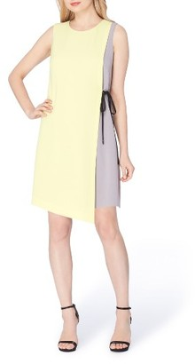 Women's Tahari Asymmetrical Shift Dress $128 thestylecure.com