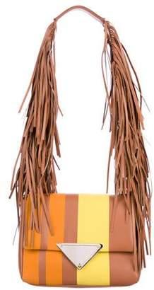 Sara Battaglia Leather Teresa Shoulder Bag