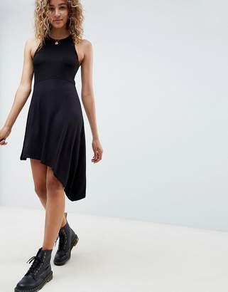 8159a97389ba Asos Design DESIGN extreme racer mini dress