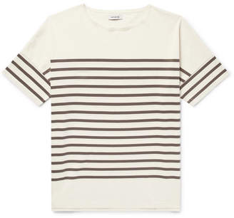 Nonnative Oversized Striped Cotton-Jersey T-Shirt
