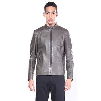 HUGO BOSS BOSS Orange Men's Jaysee Leather Jacket