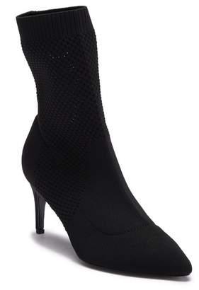 Charles David Prue Knit Sock Bootie