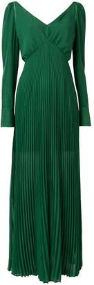 Self-Portrait pleated dress