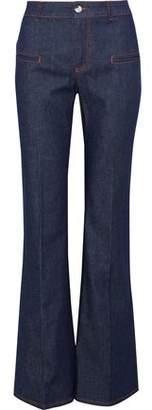 Altuzarra Serge High-Rise Flared Jeans