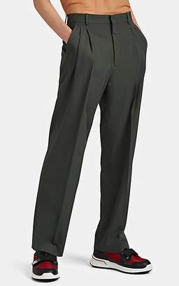 d3fd524afd Cmmn Swdn Men's Worsted Wool Pleated-Front Trousers - Gray