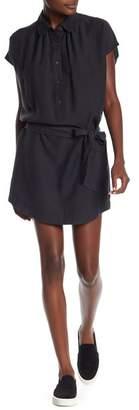 David Lerner Waist Tie Shirt Dress