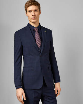 Ted Baker WASDEBJ Debonair check wool suit jacket
