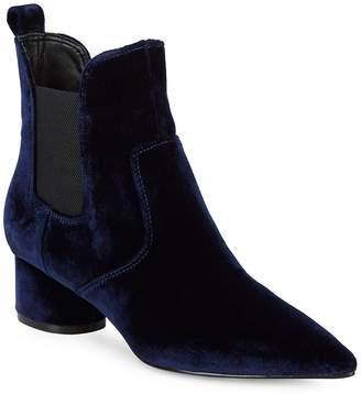 KENDALL + KYLIE Women's Velvet Chelsea Boots