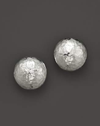 Ippolita Sterling Silver Glamazon Button Clip Earrings