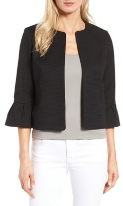 Petite Women's Halogen Bell Sleeve Jacket $99 thestylecure.com