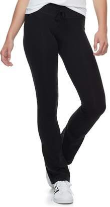 So Juniors' SO Skinny Bootcut Yoga Pants