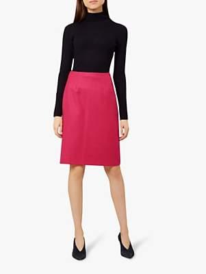 98b0e1fee1 Hobbs Lacey Pencil Skirt, Hot Pink