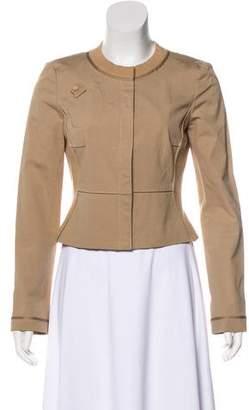 Zac Posen Tailored Cropped Jacket