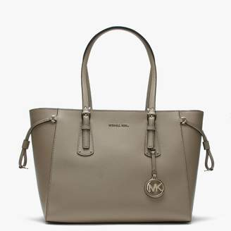 Michael Kors Voyager Truffle Saffiano Leather Tote Bag