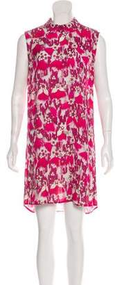 Mary Katrantzou Silk Sleeveless Dress