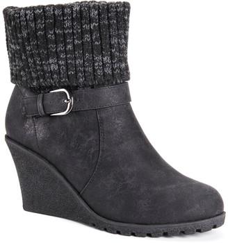 Muk Luks Georgia Women's Wedge Winter Boots