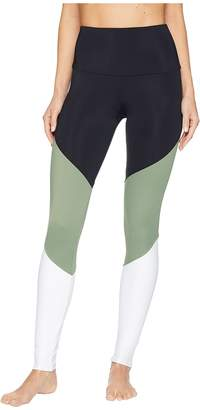 Onzie High-Rise Track Leggings Women's Casual Pants