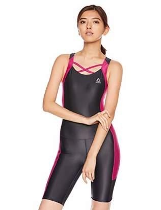 Reebok (リーボック) - [リーボック] 水泳 オールインワン フィットネス水着 348901 レディース WIN 日本 13L (日本サイズ13 号相当)