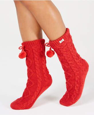 UGG Pom Pom Fleece Slipper Socks