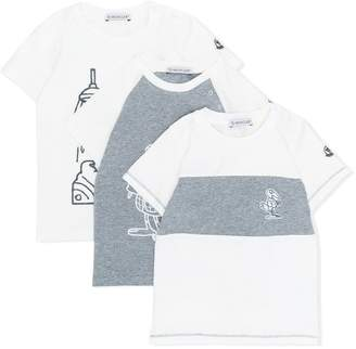 Moncler three-pack T-shirts