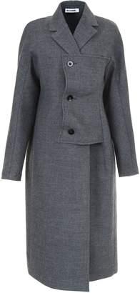 Jil Sander Coat With Side Closure
